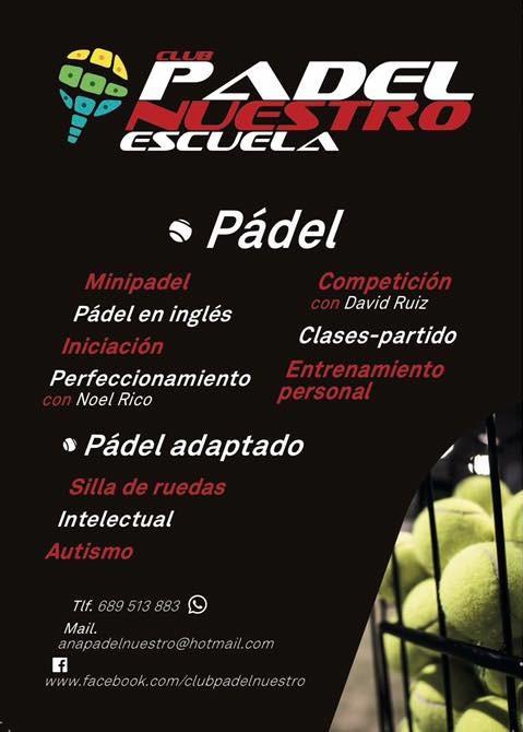 Escuela de padel en Murcia